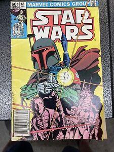 Marvel Star Wars Comic #68 (1983) Boba Fett Cover 1st Mandalorian