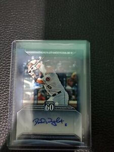 David wright autograph card 2001 Topps