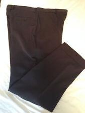 pantalone da uomo DOLCE & GABBANA in pura lana colore marrone scuro cioccolato