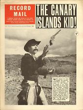 RECORD MAIL NEWSPAPER 1964 02 FEBRUARY cliff richard/swinging blue jeans picture