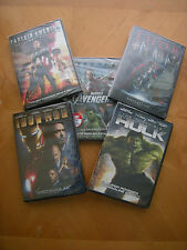 Avengers Assemble! (5-film collection-The Avengers, Thor, 3 more)... NEW DVDS