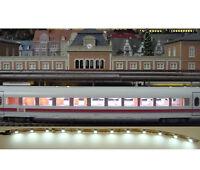 LED Personenwagen Beleuchtung weiß digital 20cm 12 Leds flexibel selbstklebend