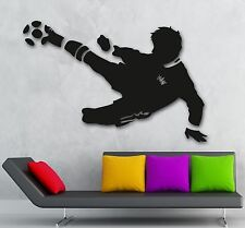 Wall Sticker Vinyl Decal Sports Fan FIFA Soccer Ball Boys Room Art (ig1139)
