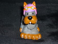 Fisher Price Little People Scooter Gray DOG Helmet HTF