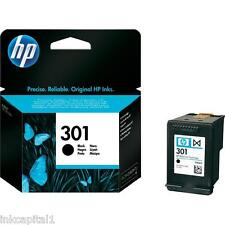HP No 301 Black Original OEM Inkjet Cartridge CH561EE Deskjet Printer