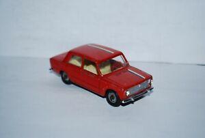 MERCURY FIAT 124 BERLINE ROUGE SCALE 1/43