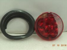 """DIALIGHT 12V LED 4"""" ROUND RED SERIES 40 STOP-TURN SIGNAL ASSY, P/N 46121RB"""
