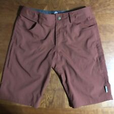 Club Ride Apparel Mountain Surf Men's Shorts (burgundy, Size Small)