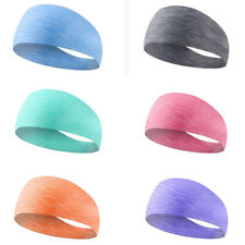 Sports Headband Yoga Dance Running Fitness Elastic Breathable Sweatbands