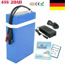 E-bike Akku 48V 20Ah Pedelec Elektrofahrrad Batterie Lithium Batterie 1000W DE