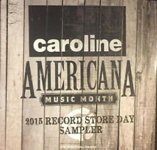 CAROLINE RECORDS PROMO 12 TRAX: Alternative Rock/Blues/Indie sampler + bonus CD!