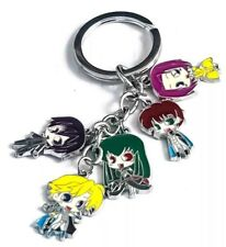 """Code Geass Lelouch Metal Keychain 5 Characters Anime 4"""" US Seller"""