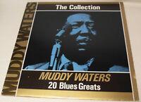 Muddy Waters The Collection 20 Blues Greats 1985 Deja Vu Vinyl LP Album