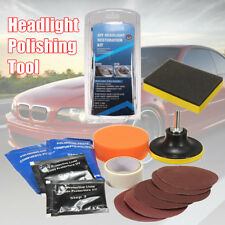 15x Car Headlight Lens Restoration System Sponge Disc Repair Kit Light Polishing