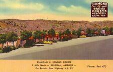 DIAMOND H RANCHO COURTS north of KINGMAN, ARIZONA on Boulder Dam Highway