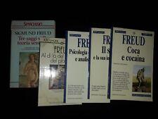 Freud: teoria sessuale Coca il Sogno Psicologia delle masse, ...Piacere. 5 libri