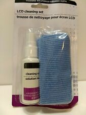 LCD Cleaning Solution & Cloth for TV Laptop Camera Mobile Phone and Tablet