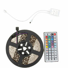 SUPERNIGHT® 10M RGB 5050 SMD 300 LED Strip Light Non-Waterproof+44-Keys Remote