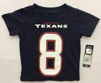 NFL Team Apparel Houston Texans Matt Schaub #8 Jersey T-Shirt Kids/Youth NWT