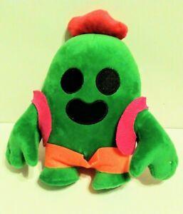"Cactus Plush Doll 9"" Game Spike Stuffed Model Toy Doll Gift Brawl Hang US Stock"