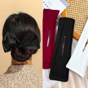 New Hair Bun Maker, Deft Bun Classy Multicolor Cloth Magic Clip Cloth Magic Clip