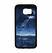Ocean Storm With Lighting Bolt for Samsung Galaxy S6 i9700 Case Cover By Atomic