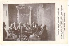 ARTISTI AL CAFFè GRECO NELL'ANNO 1890 COLEMAN BISEO CARLANDI PASCARELLA MORANI