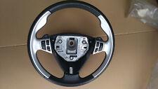 Saab 9-5 AERO leather/alu steering wheel - with sentronic switches