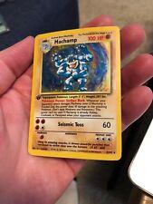 Machamp 8/102 Polemon Card 1st Edition
