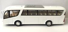 "Kinsmart Coach Travel metro bus 7"" inch diecast model car toy Plain White"