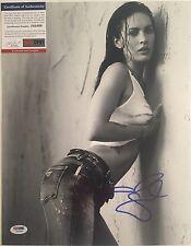 Megan Fox Autographed 11x14 Photo 1 PSA/DNA COA