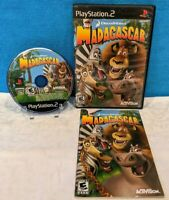 Madagascar (Sony PlayStation 2, 2005) with Manual - Tested & Working