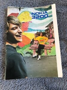 Nokia 3200 User's Guide Instruction Manual 2004 Mobile Phone Guide Leaflet