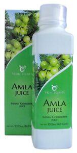 Vedic Alma Juice Gooseberry Vitamin C Immune Support - New 16.9 oz Bottle