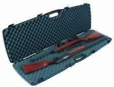 "Rifle Shotgun 2 Scoped 52"" Hard Case Plano Padded Lock Protect Storage NEW"