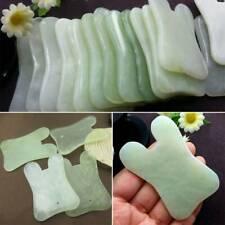 Gua Sha Treatment Massage Chinese Natural Jade Board Scraping Tool Beauty