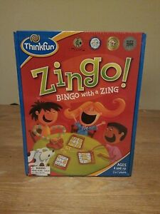 Thinkfun Zingo Bingo with a Zing Game Learning Skills New & Sealed Ages 4 and up