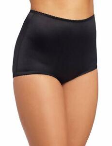 Rago Shapewear Full-Cut Control Black Shaper Brief Super Plus Size 50/10XXL