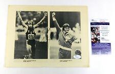 Bruce Jenner Signed 8x10 Black and White Photo Olympics JSA Auto