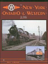 NEW YORK, ONTARIO & WESTERN: steam, diesel, rolling stock, facilities (NEW BOOK)