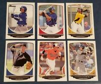 2013 Bowman and Draft Base Prospects 1st Prospect Rookies RC You Pick From List