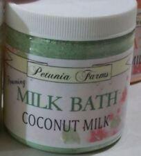 Coconut Milk Bath * Cucumber Melon * Lg 7 oz Glycerin Milk Bath