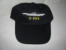 baseball cap- U 995- from U boat memorial in Germany