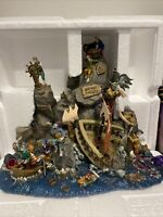 """LEMAX Halloween Village SPOOKY TOWN Collection Table Accent """"DEAD MAN'S POINT"""""""