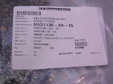 "20 Emhart NAS1130-04-15 4-40 Free Running Tangless Screw Inserts .112"" Length"