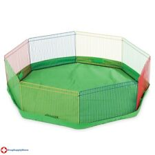 "RA Mat/Cover for the Small Pet Playpen - Green - 34"" dia"