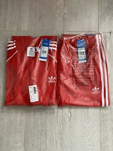 Adidas Sst Full Tracksuit Mens Large Red (NEW)