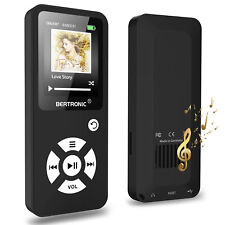 BERTRONIC Made in Germany BC01 MP3-Player - Schwarz - 100h - Schrittzähler - FM