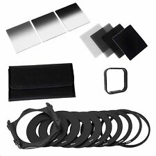 Complete ND 2 4 8 16 Filter Kit for Cokin P, Filter Holder, Wide Adapter & Hood