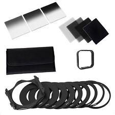 Completo Nd 2 4 8 16 Kit de Filtro para Cokin P, soporte del filtro, campana de ancho Adaptador &